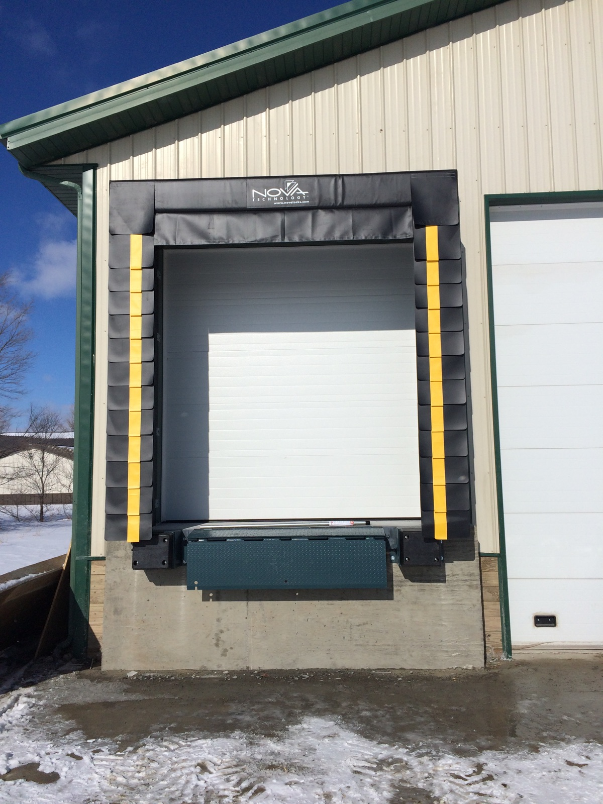 Loading Dock Door Seals Shelters St Cloud Mn Adw