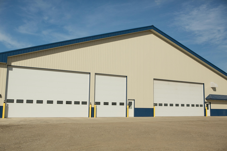 Commercial Flush Garage Doors St Cloud Mn American Door