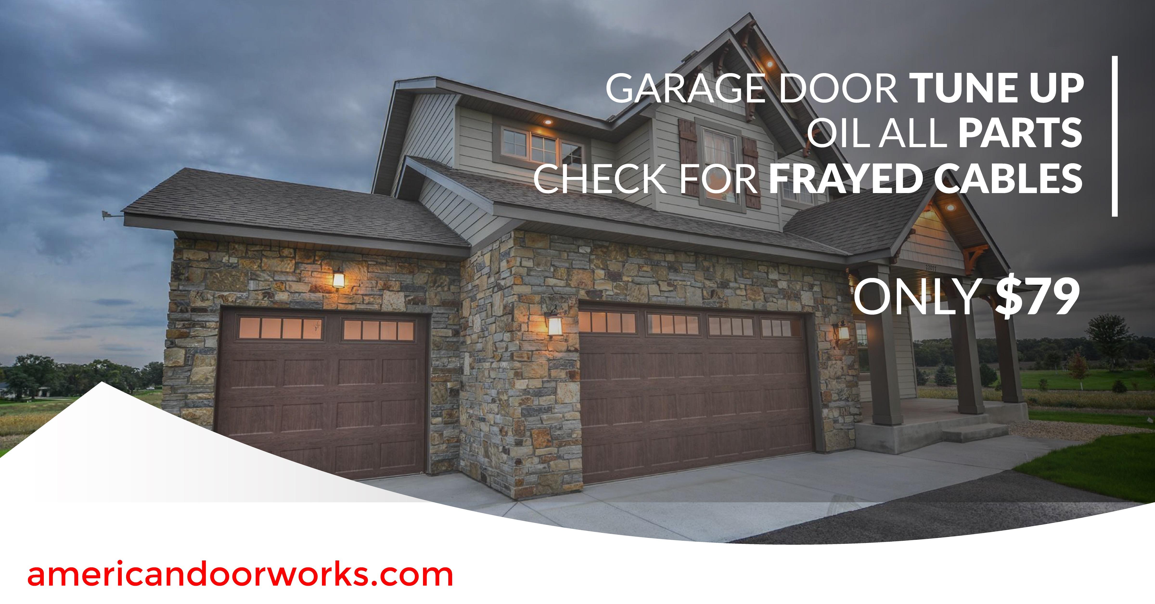 American Door Works Get Your Garage Ready For Winter