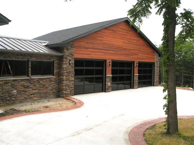 Aluminum Glass Modern Contemporary Garage Doors St