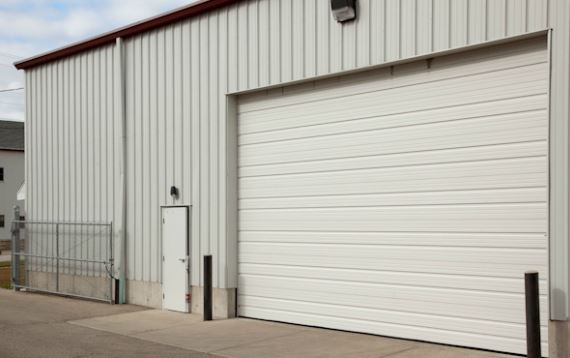 Ribbed Commercial Garage Doors St Cloud Mn America Door