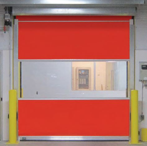 High Speed Rapid Roll Up High Performance Doors St