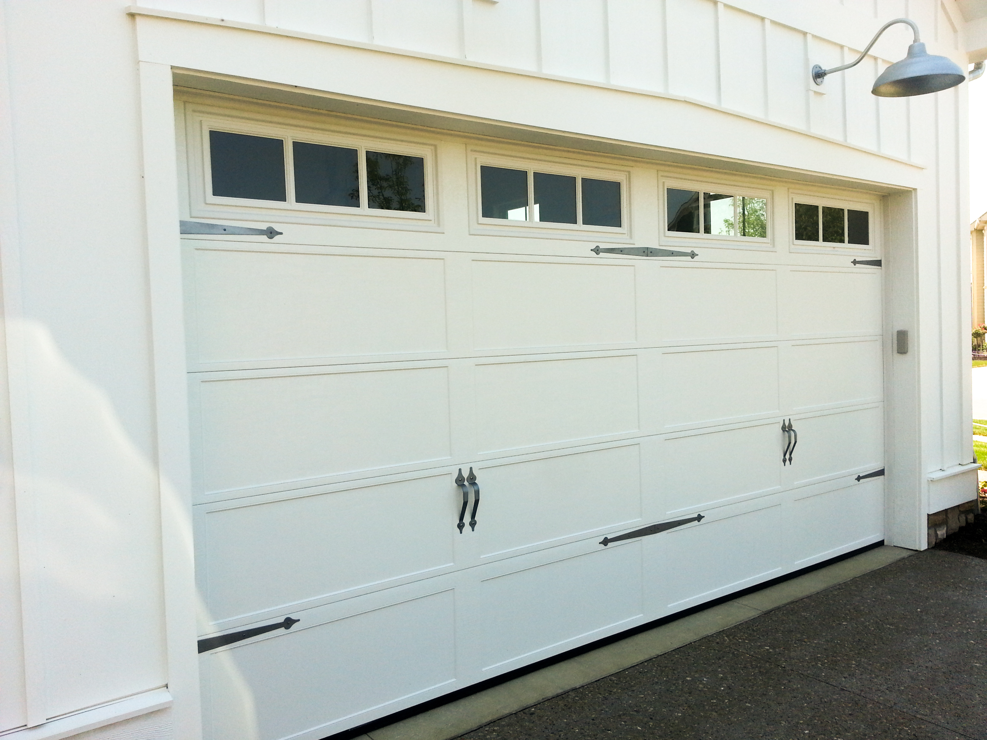 1500 #837448  Types Of Door Construction And Insulation Available On Select Doors pic Kinds Of Garage Doors 35812000