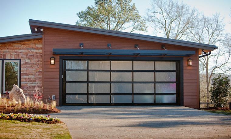 Aluminum Glass Modern Contemporary Garage Doors St