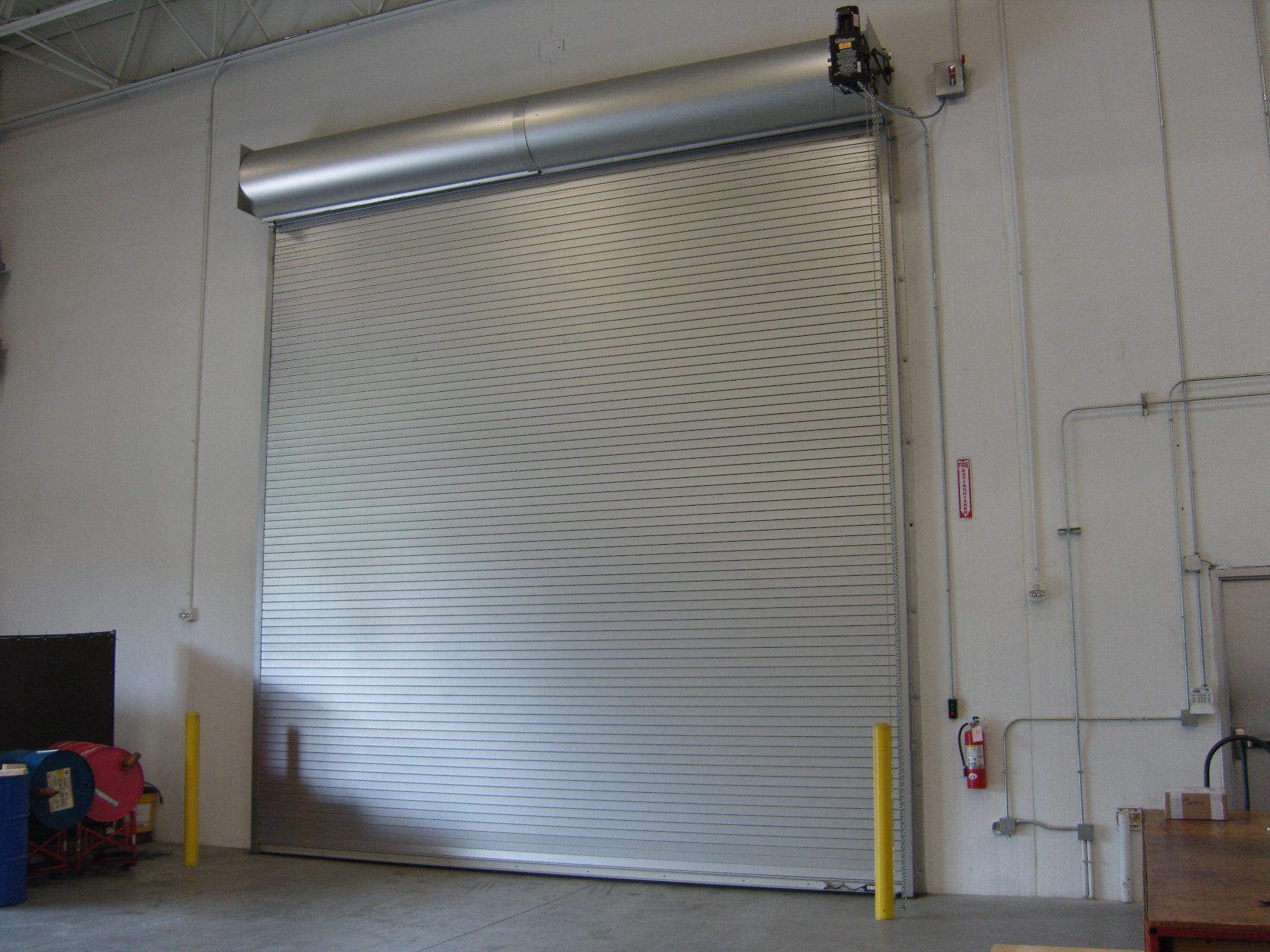 Rolling Service Door : Steel rolling roll up roller service doors st cloud mn
