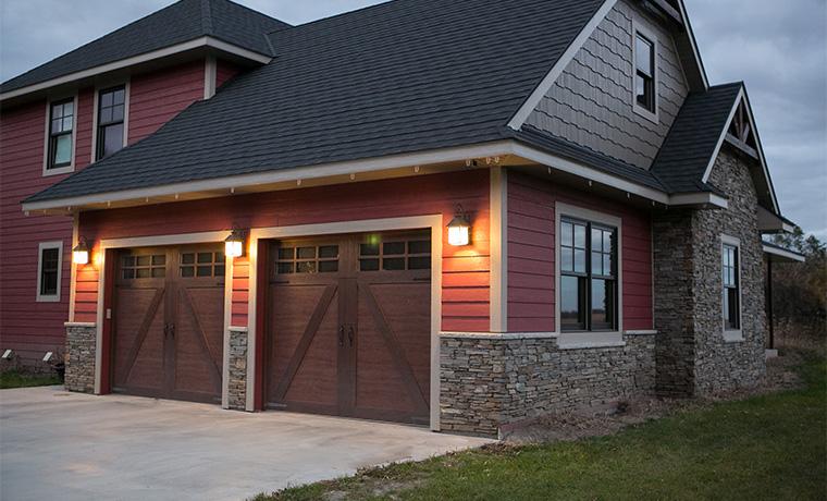 American Door Works Overlay Carriage House