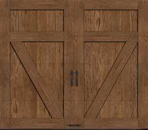 Canyon Ridge Faux Wood Garage Doors St Cloud Mn Adw